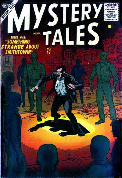Cover for Mystery Tales (Marvel, 1952 series) #47