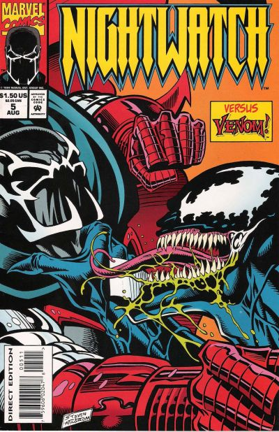 Cover for Nightwatch (Marvel, 1994 series) #5
