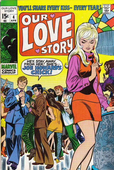 Cover for Our Love Story (Marvel, 1969 series) #4