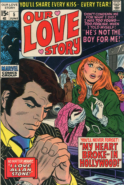Cover for Our Love Story (Marvel, 1969 series) #5