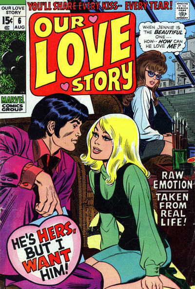 Cover for Our Love Story (Marvel, 1969 series) #6