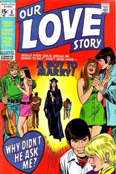 Cover for Our Love Story (Marvel, 1969 series) #8