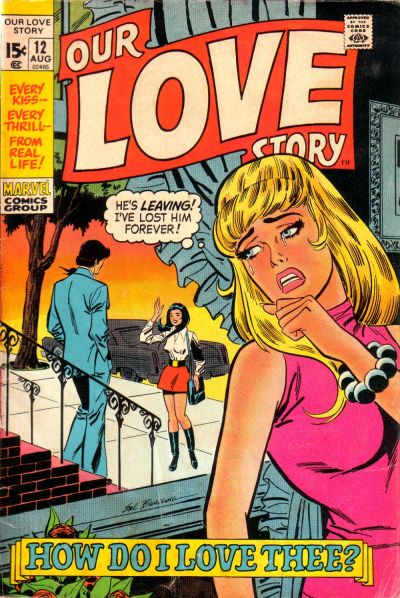 Cover for Our Love Story (Marvel, 1969 series) #12
