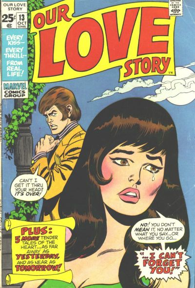 Cover for Our Love Story (Marvel, 1969 series) #13