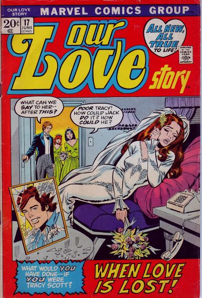 Cover for Our Love Story (Marvel, 1969 series) #17