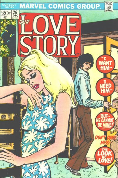 Cover for Our Love Story (Marvel, 1969 series) #26