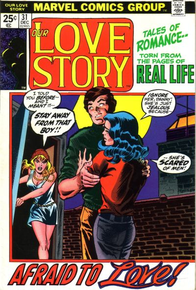 Cover for Our Love Story (Marvel, 1969 series) #31