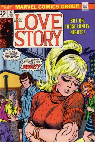 Cover for Our Love Story (Marvel, 1969 series) #32