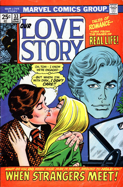 Cover for Our Love Story (Marvel, 1969 series) #33