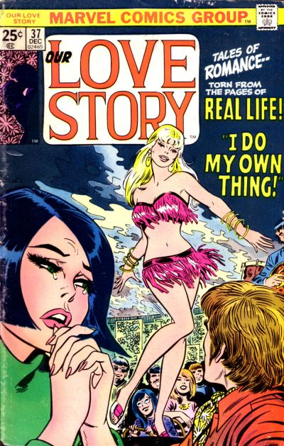 Cover for Our Love Story (Marvel, 1969 series) #37