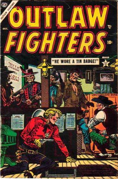 Cover for Outlaw Fighters (Marvel, 1954 series) #3