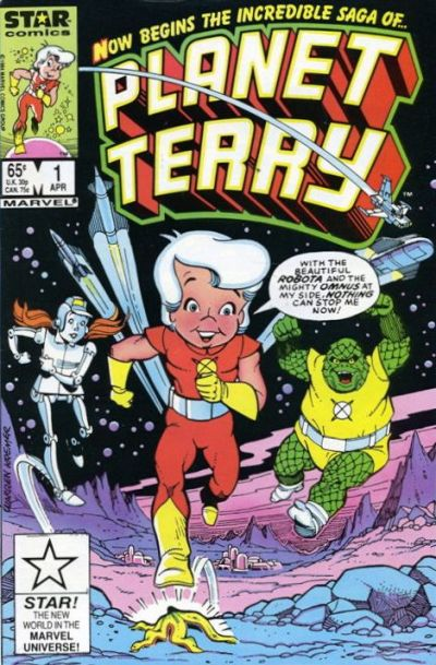 Cover for Planet Terry (Marvel, 1985 series) #1 [Direct Edition]