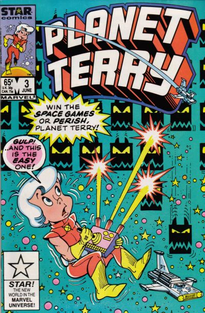 Cover for Planet Terry (Marvel, 1985 series) #3 [Newsstand]