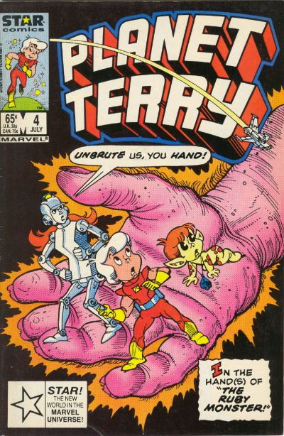 Cover for Planet Terry (Marvel, 1985 series) #4 [Direct]
