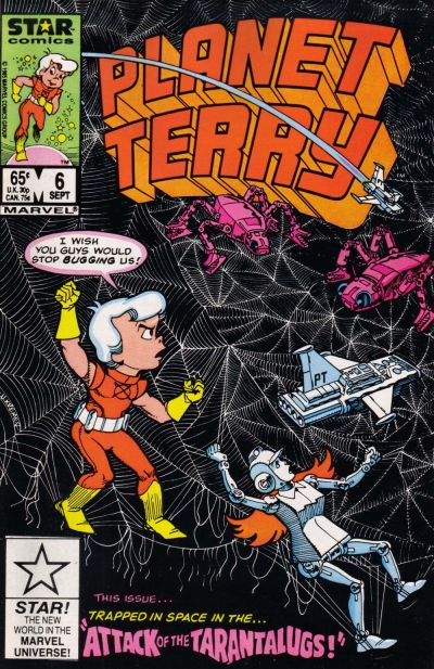 Cover for Planet Terry (Marvel, 1985 series) #6 [Direct]