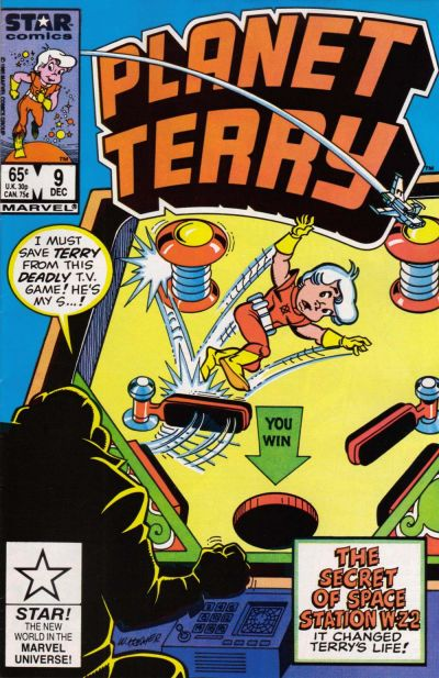 Cover for Planet Terry (Marvel, 1985 series) #9 [Direct]
