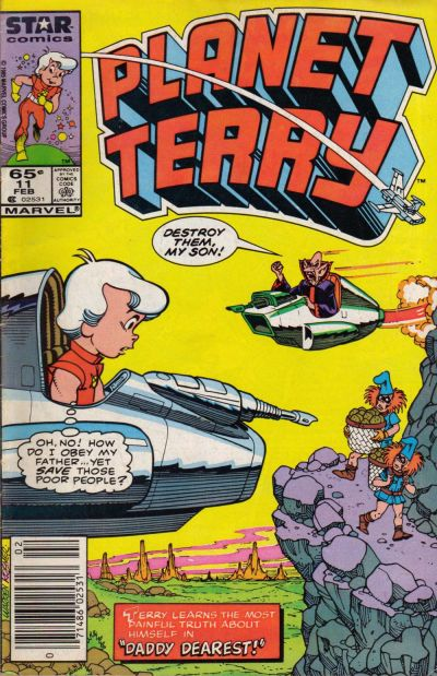 Cover for Planet Terry (Marvel, 1985 series) #11 [Direct]