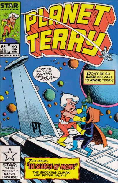 Cover for Planet Terry (Marvel, 1985 series) #12 [Direct]
