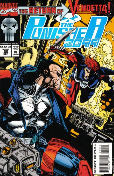 Cover for Punisher 2099 (Marvel, 1993 series) #20