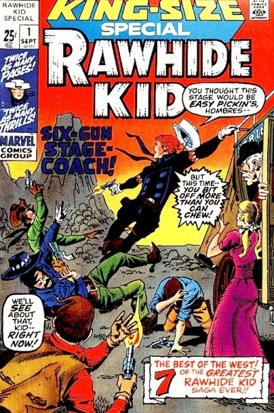 Cover for Rawhide Kid Special (Marvel, 1971 series) #1