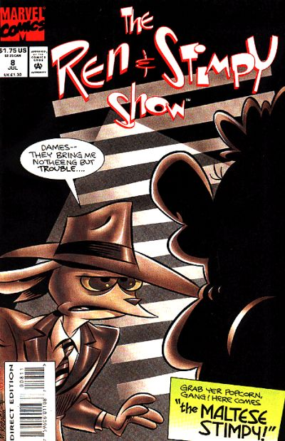 Cover for The Ren & Stimpy Show (Marvel, 1992 series) #8