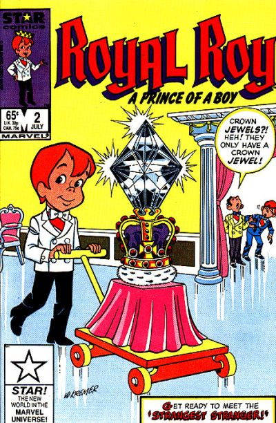 Cover for Royal Roy (Marvel, 1985 series) #2