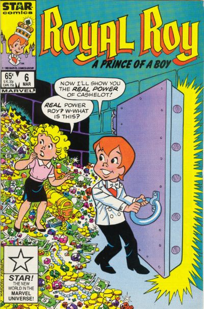 Cover for Royal Roy (Marvel, 1985 series) #6