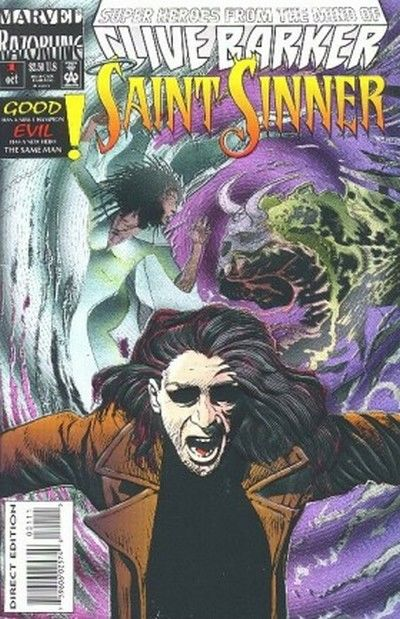 Cover for Saint Sinner (Marvel, 1993 series) #1 [Direct Edition]
