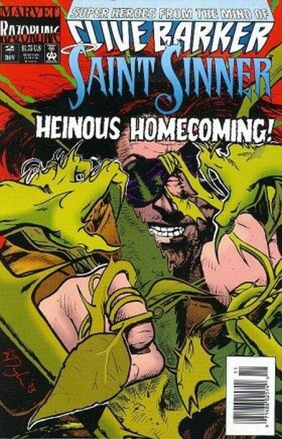 Cover for Saint Sinner (Marvel, 1993 series) #2
