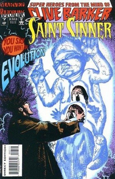 Cover for Saint Sinner (Marvel, 1993 series) #7