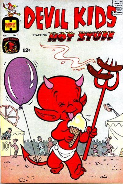 Cover for Devil Kids Starring Hot Stuff (Harvey, 1962 series) #1