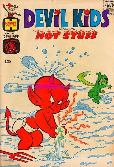 Cover for Devil Kids Starring Hot Stuff (Harvey, 1962 series) #11