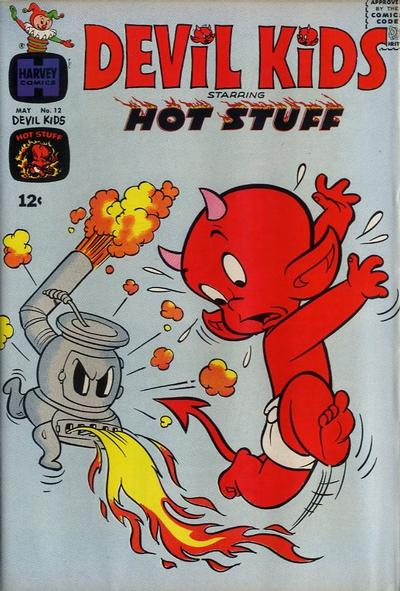 Cover for Devil Kids Starring Hot Stuff (Harvey, 1962 series) #12