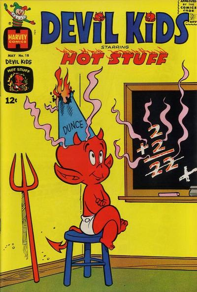 Cover for Devil Kids Starring Hot Stuff (Harvey, 1962 series) #18