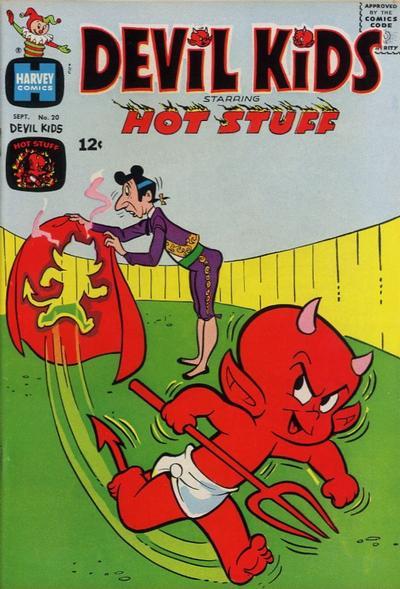 Cover for Devil Kids Starring Hot Stuff (Harvey, 1962 series) #20