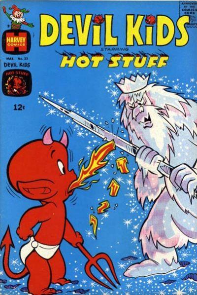 Cover for Devil Kids Starring Hot Stuff (Harvey, 1962 series) #23