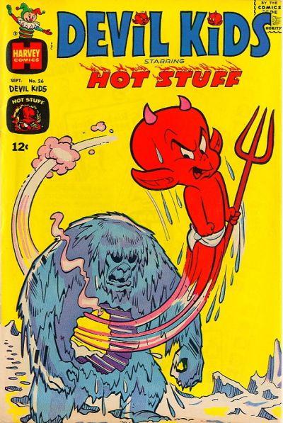 Cover for Devil Kids Starring Hot Stuff (Harvey, 1962 series) #26