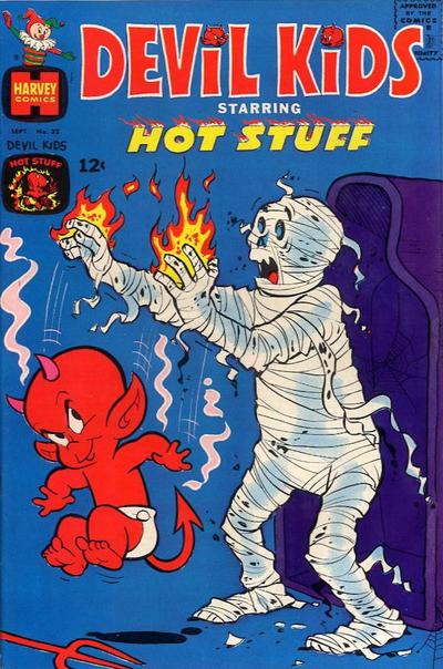 Cover for Devil Kids Starring Hot Stuff (Harvey, 1962 series) #32