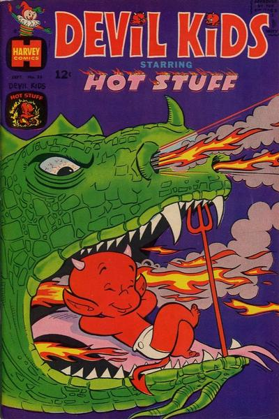 Cover for Devil Kids Starring Hot Stuff (Harvey, 1962 series) #35