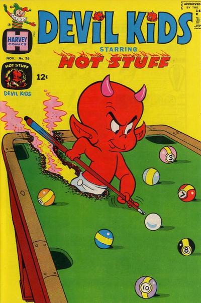 Cover for Devil Kids Starring Hot Stuff (Harvey, 1962 series) #36