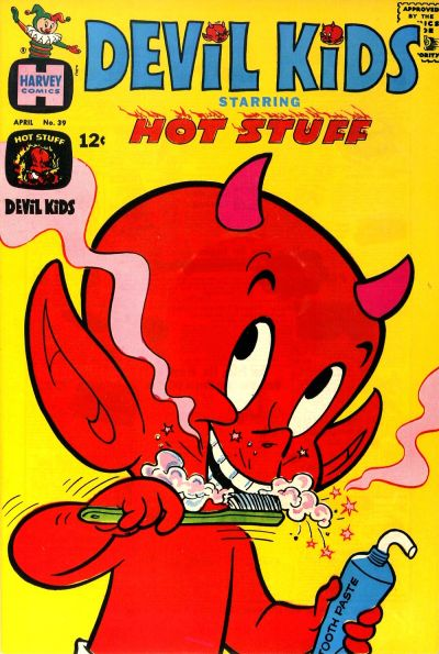 Cover for Devil Kids Starring Hot Stuff (Harvey, 1962 series) #39