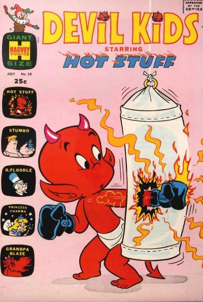 Cover for Devil Kids Starring Hot Stuff (Harvey, 1962 series) #50