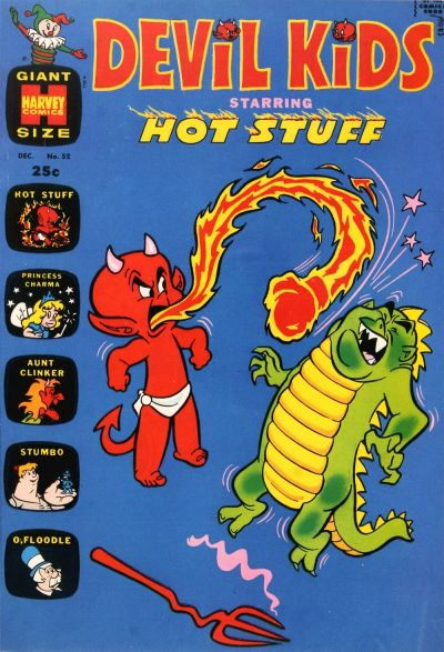 Cover for Devil Kids Starring Hot Stuff (Harvey, 1962 series) #52