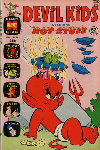 Cover for Devil Kids Starring Hot Stuff (Harvey, 1962 series) #54