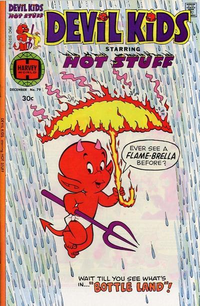 Cover for Devil Kids Starring Hot Stuff (Harvey, 1962 series) #79