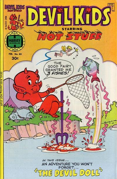Cover for Devil Kids Starring Hot Stuff (Harvey, 1962 series) #80