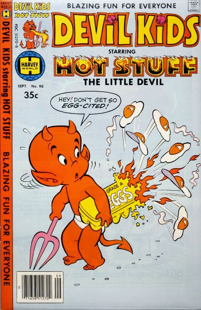 Cover for Devil Kids Starring Hot Stuff (Harvey, 1962 series) #90
