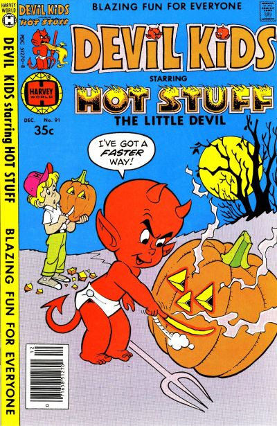 Cover for Devil Kids Starring Hot Stuff (Harvey, 1962 series) #91