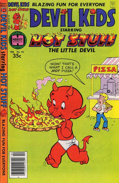 Cover for Devil Kids Starring Hot Stuff (Harvey, 1962 series) #92