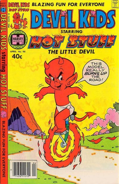 Cover for Devil Kids Starring Hot Stuff (Harvey, 1962 series) #98